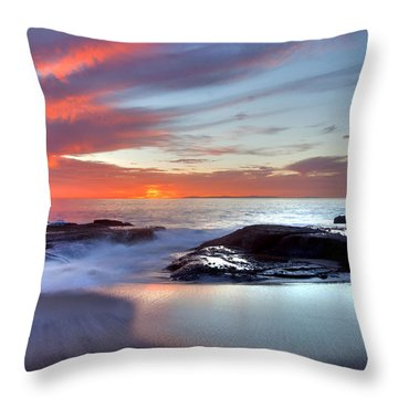 Zen Set Throw Pillow