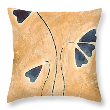 Zen Splendor - Dragonfly Art By Sharon Cummings. Throw Pillow