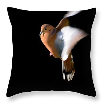 Zenaida Throw Pillow by Edgar Torres