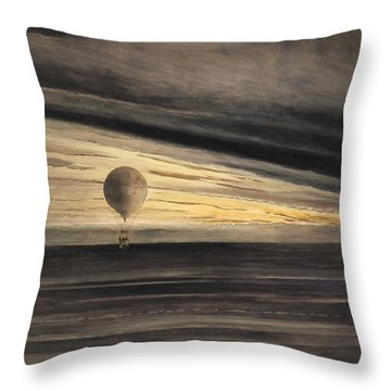 Zenith At Sunrise Throw Pillow by Bill Cannon