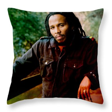 Ziggy Marley  Throw Pillow