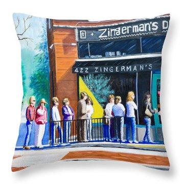 Zingerman's Deli Throw Pillow