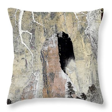 Zion Tea Throw Pillow