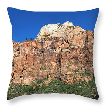 Zion Wall Throw Pillow