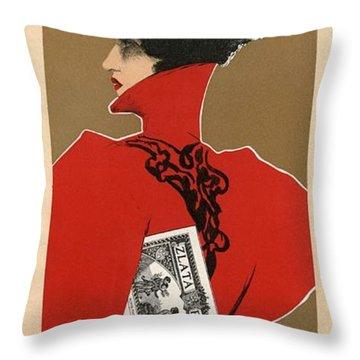 Zlata Praha Throw Pillow