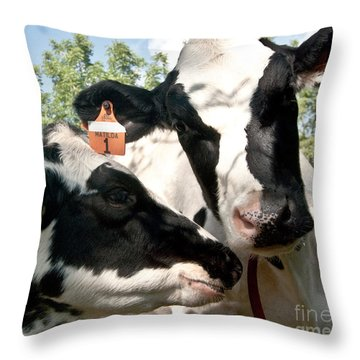 Zoey And Matilda Throw Pillow