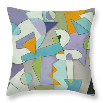 Zone Throw Pillow by Trish Toro