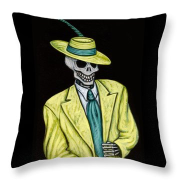 Zoot Of The Living Dead Throw Pillow by Holly Wood