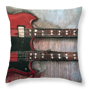 Zoso Throw Pillow