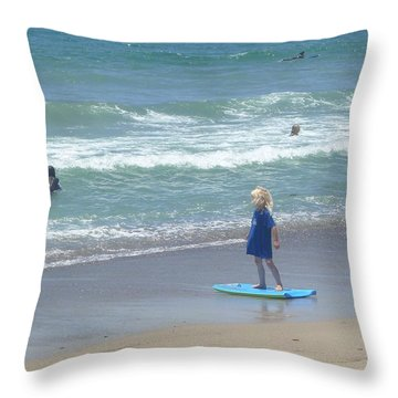 Zuma - Surf Camp 2  Throw Pillow