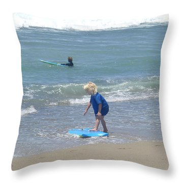 Zuma - Surf Camp 3 Throw Pillow