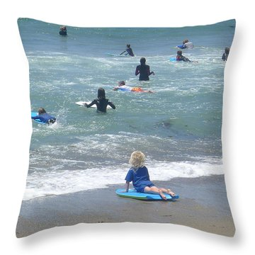 Zuma - Surf Camp 4 Throw Pillow