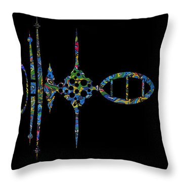Throw Pillow featuring the photograph Zunzigar Reflection by Mark Blauhoefer