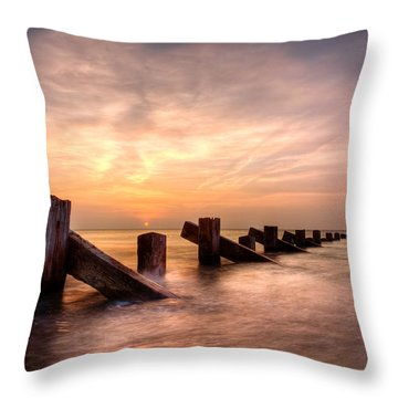 Abermaw Sunset Throw Pillow