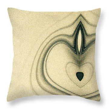 Abstract Painting Throw Pillow by Odon Czintos