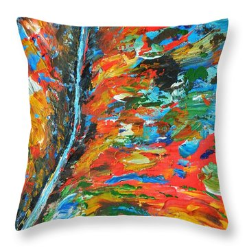 Canyon River Throw Pillow by Everette McMahan jr
