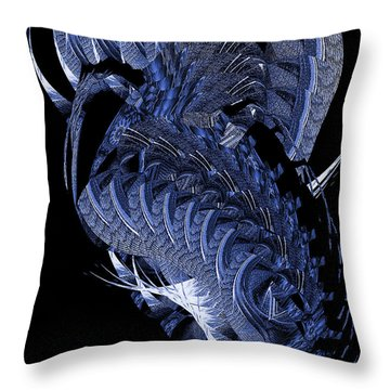 Cryptic Triptych II Throw Pillow