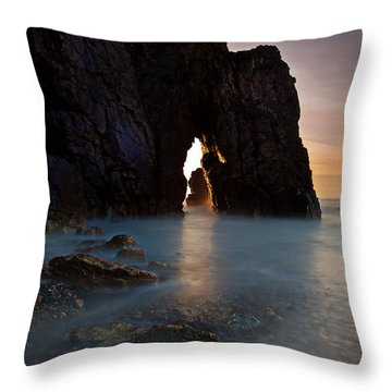 Gateway To The Sun Throw Pillow