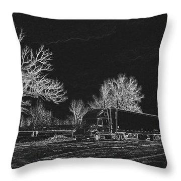 Good Night - Sleep Tight Throw Pillow