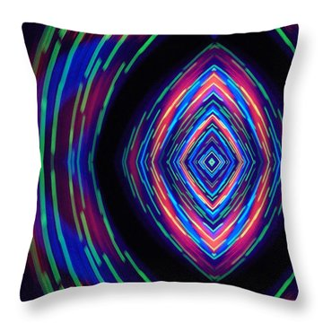 Hypnotizing Throw Pillow