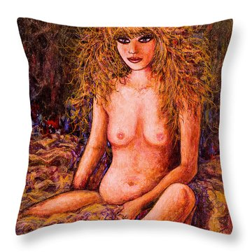 Love Venus  Throw Pillow by Natalie Holland