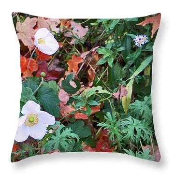 Lush Ground Cover Throw Pillow