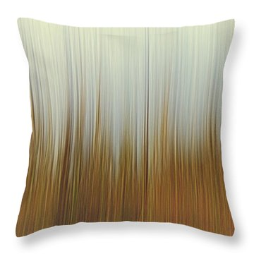 Movement Throw Pillow by Stelios Kleanthous