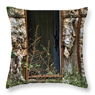 No Door Throw Pillow