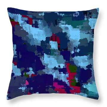 Patched Throw Pillow