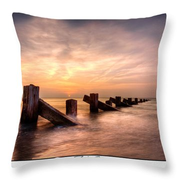Rich Skies - Abermaw Throw Pillow