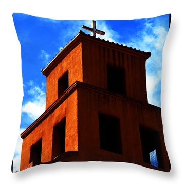 Throw Pillow featuring the photograph  Santuario De Guadalupe by Susanne Still