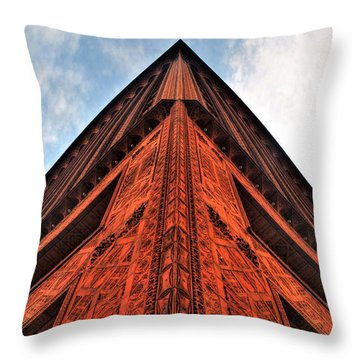 006 Guaranty Building Series Throw Pillow by Michael Frank Jr