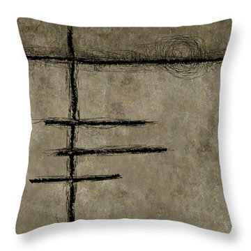 0292 Abstract Thought Throw Pillow