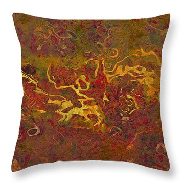 0694 Abstract Thought Throw Pillow by Chowdary V Arikatla