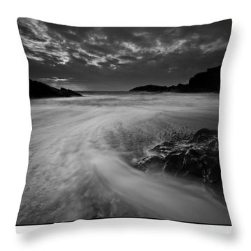 Llanddwyn Island Beach Throw Pillow