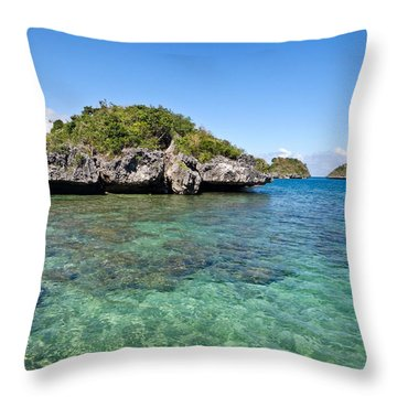 100 Islands National Park Throw Pillow