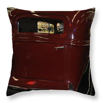 1935 Chevy  Sedan Throw Pillow