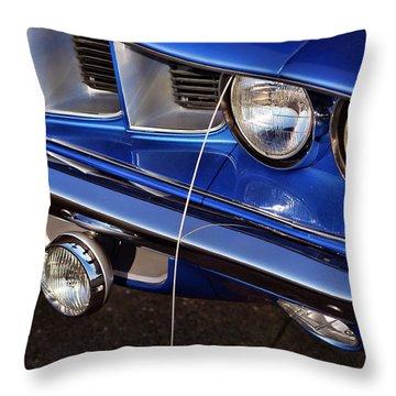 1971 Plymouth Hemicuda Throw Pillow by Gordon Dean II