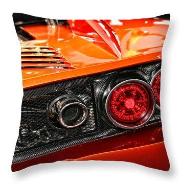 2012 Falcon Motor Sports F7 Series 1  Throw Pillow
