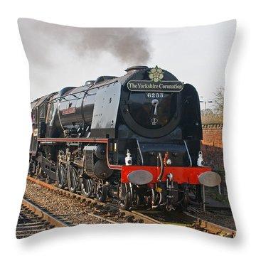 6233 Duchess Of Sutherland Throw Pillow