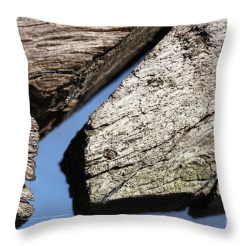 Abstract With Angles Throw Pillow