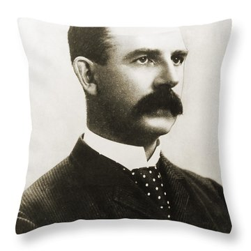 Albert Goodwill Spalding Throw Pillow by Granger
