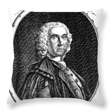 Alexander Monro, Primus, Scottish Throw Pillow by Science Source