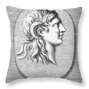 Alexander The Great (356-323 B.c.) Throw Pillow by Granger