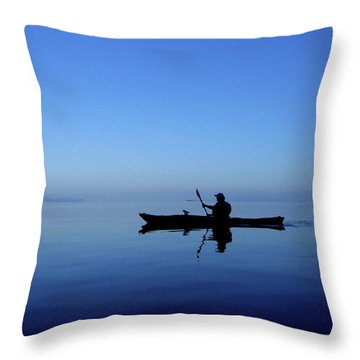 Serenity Surrounds Throw Pillow