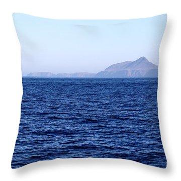 Anacapa Island Throw Pillow by Henrik Lehnerer