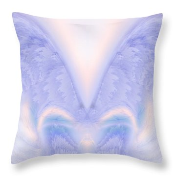 Angel Wings Throw Pillow by Christopher Gaston