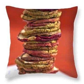 Dried Fruit Throw Pillows
