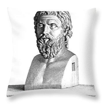 Aristophanes (c450-c388 B.c.) Throw Pillow by Granger