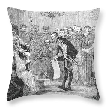 Augsburg Confession, 1530 Throw Pillow
